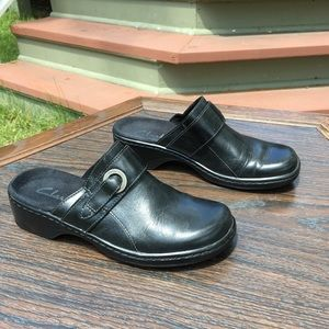 Clarks Black Patty Keren Shoes